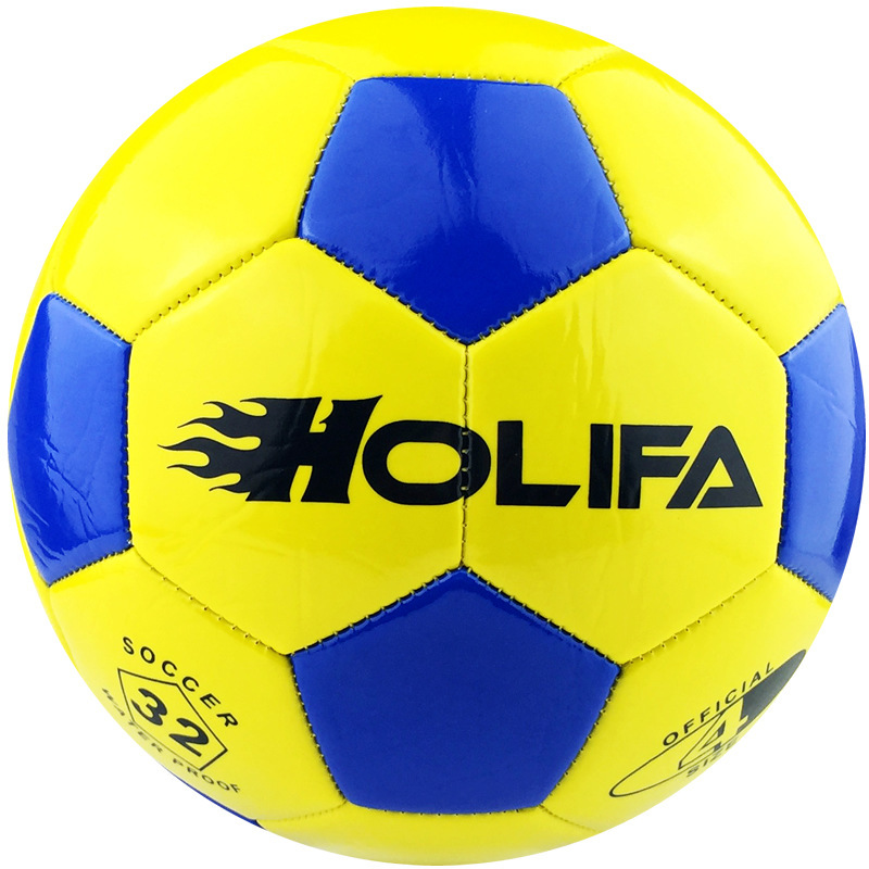 Genuine Student HOLIFA Soccer Balls Football Balls Size 4 Team 4-5 People PU Children Football Training Game(China (Mainland))