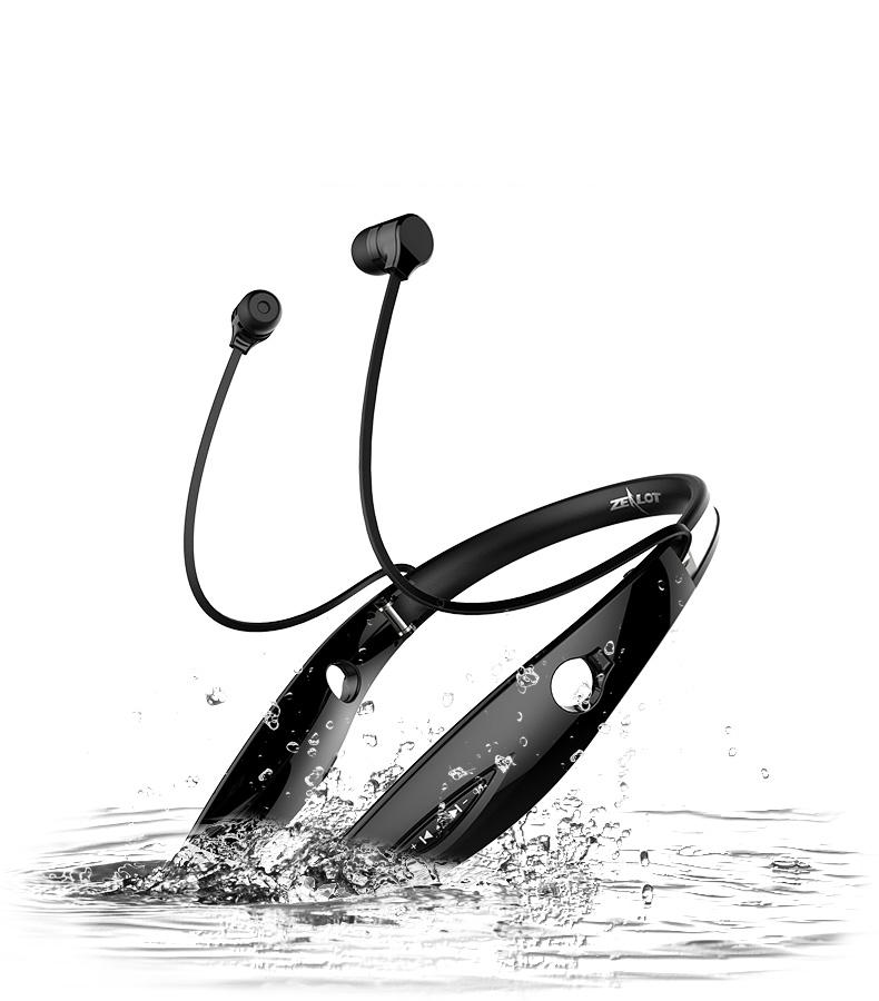 COOL! Universal Sport Stereo Bluetooth Headset Handsfree Wireless Earphone Headphone Wireless Mobile Music Bluetooth Headset