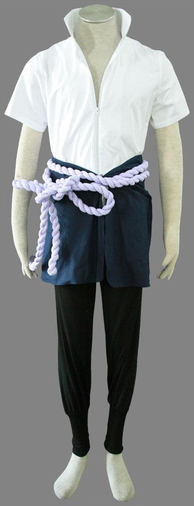Naruto Cosplay Costume Uchiha Sasuke 4th Any Size(China (Mainland))