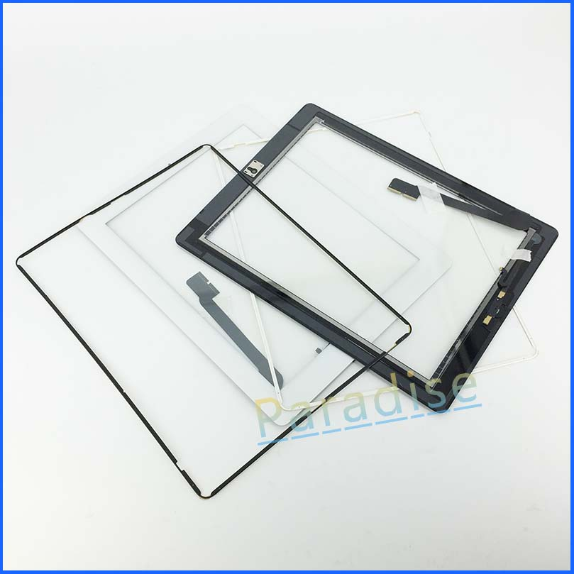 50/pcs For ipad 4 iPad 4 touch screen digitizer+home button+button flex +sticker +camera holder complete DHL free shipping 44<br><br>Aliexpress