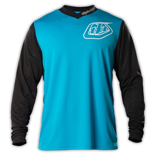 2015 Troy Lee Designs TLD GP Hot Rod Jersey Dirt Bike MX Gear Midnight Bicycle Motocross Jerseys T-shirt Blue/Black