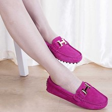 Spring Summer Top brand women Moccasins Shoes Genuine Leather women Flat Shoes Casual Loafers Slip On Driving Gommini H logo(China (Mainland))