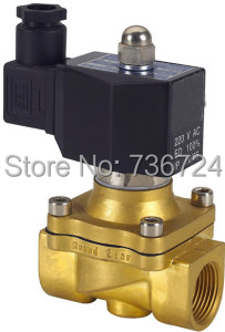 """3/8"""" Solenoid valve air,water,oil,gas normally closed,Square coil IP65 brass solenoid valve(China (Mainland))"""