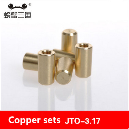 Model Parts drill chuck coupling sleeve JTO-3.17 copper sets motor shaft connected machine(China (Mainland))