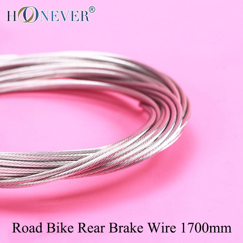 4pcs Road Bike Rear Brake Inner Cable Stainless Steel Road Bicycle Rear Brake Cable 1700mm(China (Mainland))
