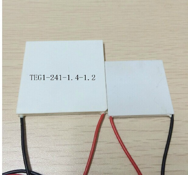 Freeshipping 55x55MM 7V 1.25A 55x55 TEG1-241-1.4-1.2 Thermoelectric Power Generation Peltier Module(China (Mainland))