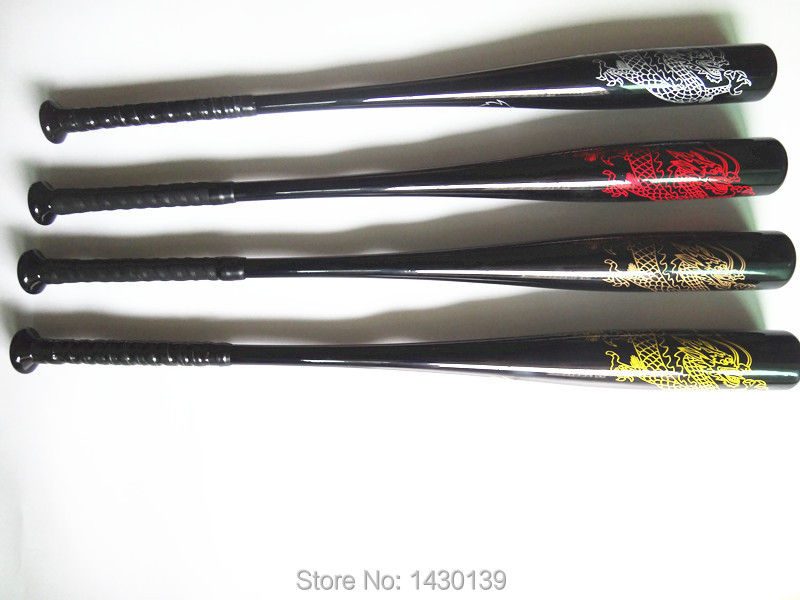 New OEM 70*840mm full carbon fibre baseball bats for match horsehide baseballs bars silver red gold yellow colors Free shipping(China (Mainland))