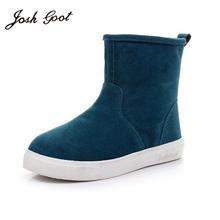 2016 venta caliente de las mujeres botas de Cuero Genuino botines de ante de la nieve botas de invierno de hombres y mujeres para hombre de arranque zapato 35-44(China (Mainland))