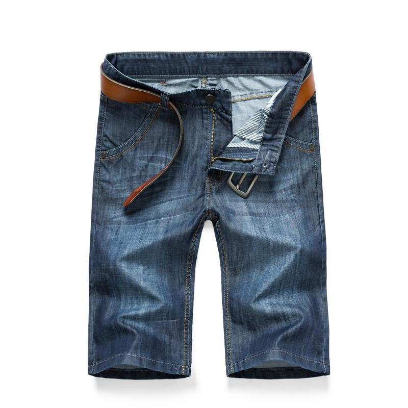 Summer Sexy Mens Jeans Brand-Clothing Casual Men Jeans Designer Cheap Jeans Mens Short Jeans Men Knee Length Lightweight Perfume(China (Mainland))
