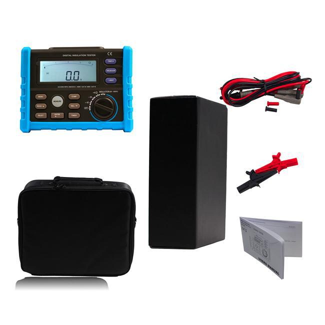 Profession Digital High Voltage Insulation Test Meter With 50-100V Output Free Shipping 12001836(China (Mainland))