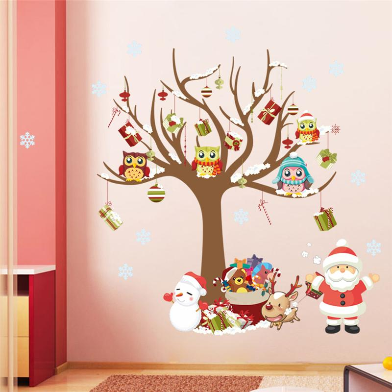 Buy wholesale christmas wall stickers for Home decor products