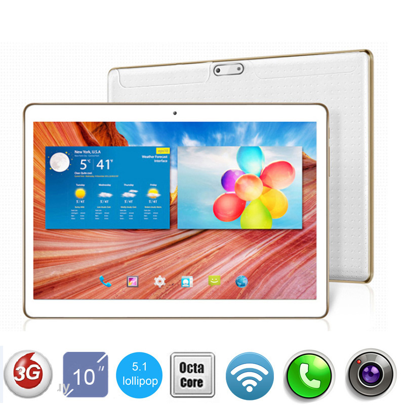 DHL Free Shipping 10 inch 3G Tablet PC Octa Core 4GB RAM 32GB ROM Android 5.1 GPS 5.0MP WCDMA 1280*800 IPS Tablet PC 10 inch(China (Mainland))