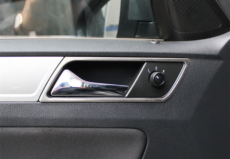 Volkswagen vw 2014 2015 New Polo interior door handle ring decorative modification exclusive trim cover