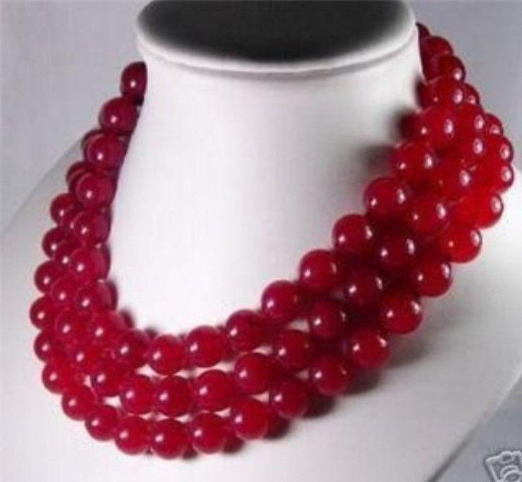 10 мм красный рубин нефрита 50