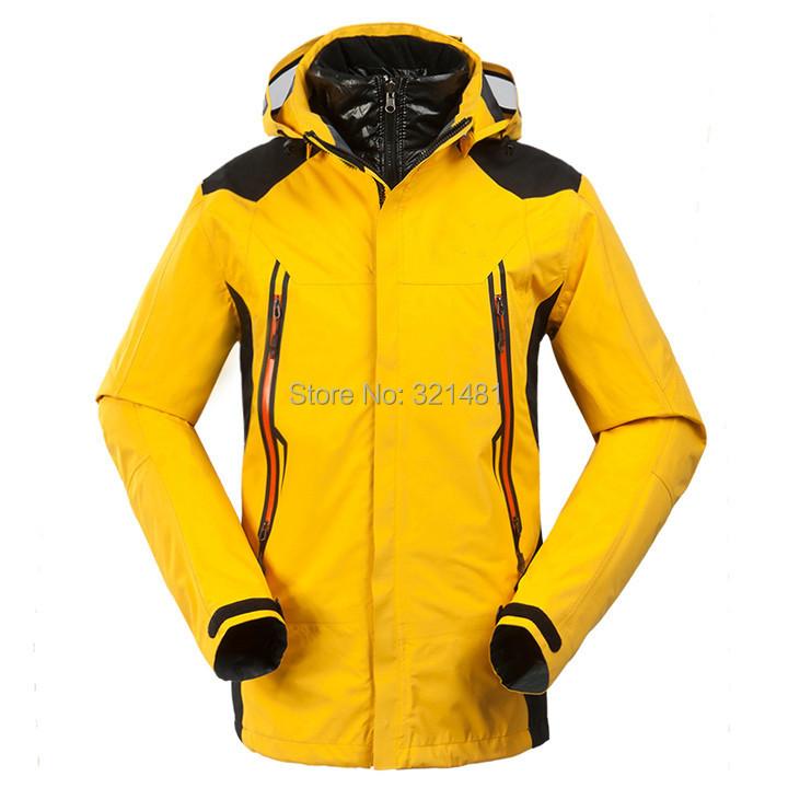 2015 Brand New Men Winter Outdoor Jacket Coats Camping Hiking Skiing Climbing Clothes+Duck coat++S-2XL