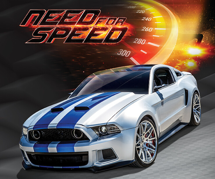 Brand Car Model for Ford Mustang 1:24 Alloy Diecast Hot Wheels Metal Sedan Model Mini Vehicle Collection Gift Toy(China (Mainland))
