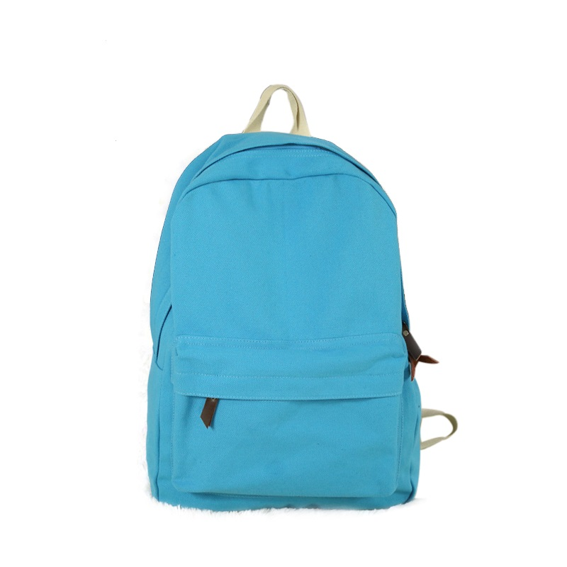 Institute of fashion and durable backpack canvas backpack laptop bag wind leisure men's and women's general trend of backpack(China (Mainland))