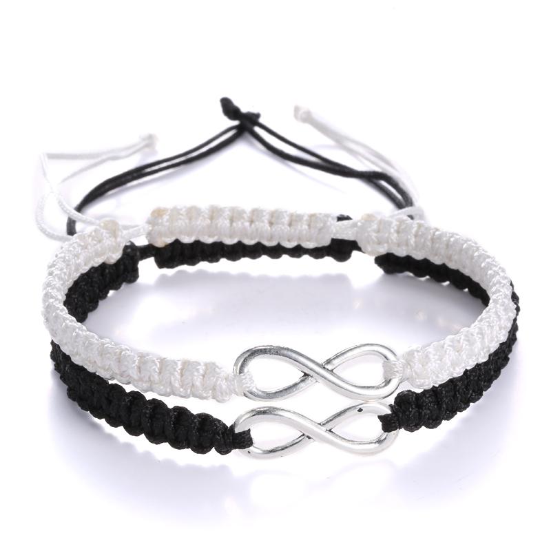 fashion couples bracelet lovers bracelet handmade braided