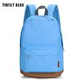 TINYAT women Korean Canvas School Bookbag Casual Rucksacks college girl backpack Travel bag computer pack suit