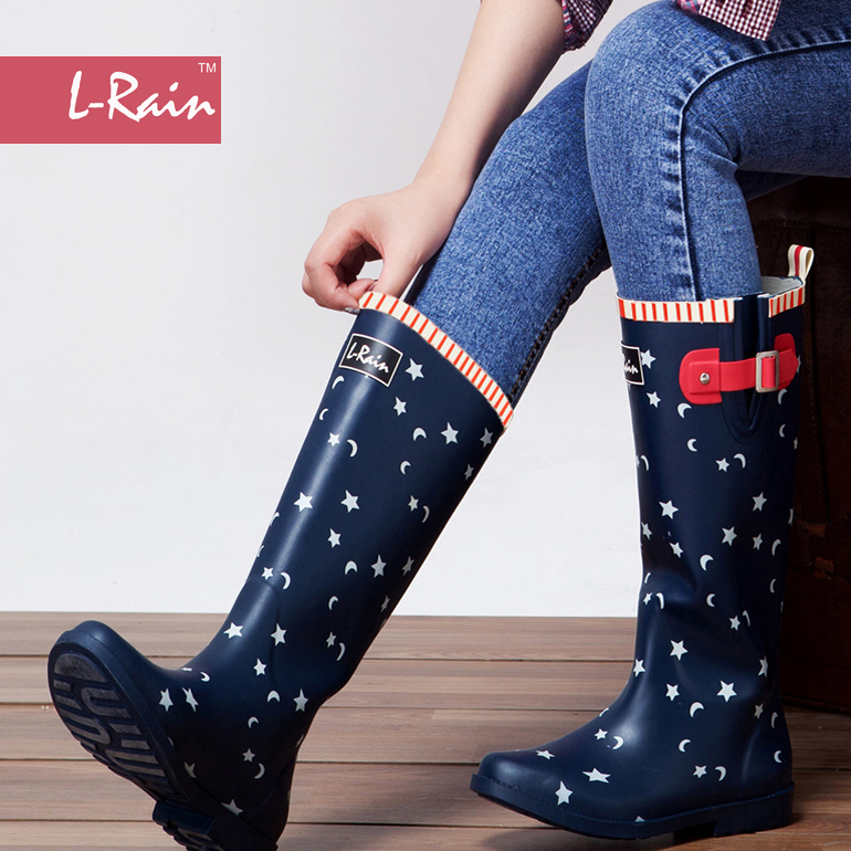 Womens Wellies Rain Boots - Cr Boot