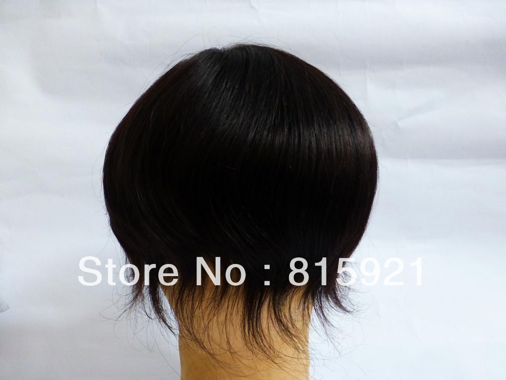 Quality Virgin Indian Human Hair Swiss Lace Toupee Men - EJS Shop store