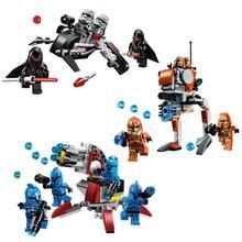 New STAR WARS Shadow Senate Commando Geonosis Building Blocks Bricks Clone War Action Figures Starwars Toys 8starddis