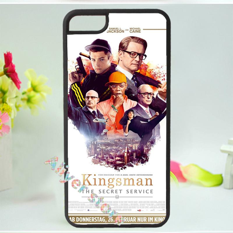 Kingsman The Secret Service mobile phone case cover for iphone 4 4s 5 5s 5c SE 6 6s & 6 plus 6s plus #264(China (Mainland))