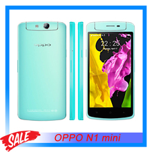 "Original OPPO N1 mini 5.0"" IPS Screen Android 4.3 Smartphone Qualcomm Snapdragon 400 Quad-core 1.6 GHz CPU RAM 2GB+ROM 16GB GSM"