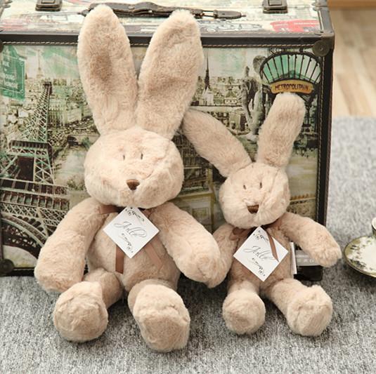 2016 New Baby Children Plush Toys Doll high-quality fabrics super soft plush rabbit doll cute rabbit Baby Shining(China (Mainland))