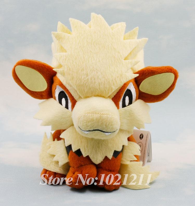 "Bnwt Pokemon Plush Toy Arcanine 7"" Japan anime Nintendo Game Stuffed Animal Doll(China (Mainland))"