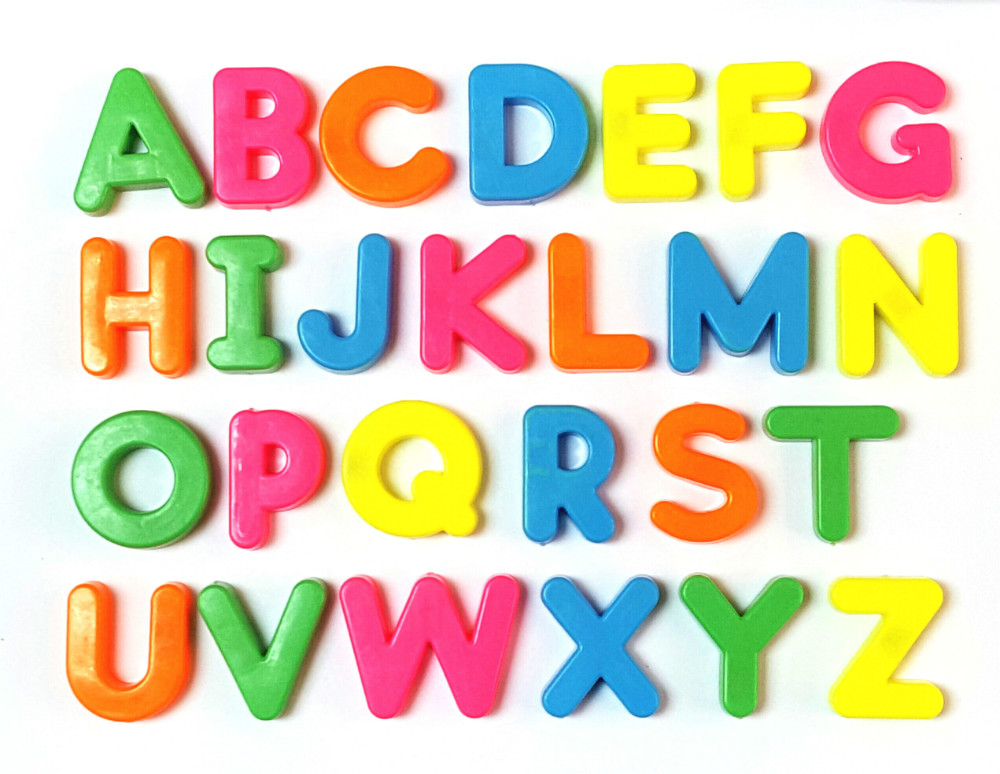 26 magnetic letters full alphabet a z 26pc preschool educational toy fridge magnets 125 baby party