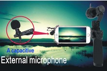External microphone for DJI OSMO handheld gimbal camera drone Accessories RC parts