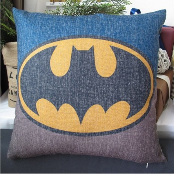 Batman Cushion Knitting Pattern : Batman/ Superman/ Iron man/ Green lantern/ Captain America/ The flash cotton ...