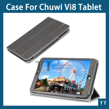 for chuwi vi8 case Original Leather Case cover For Chuwi Vi8 8.0 inch Tablet PC + free Screen protectors