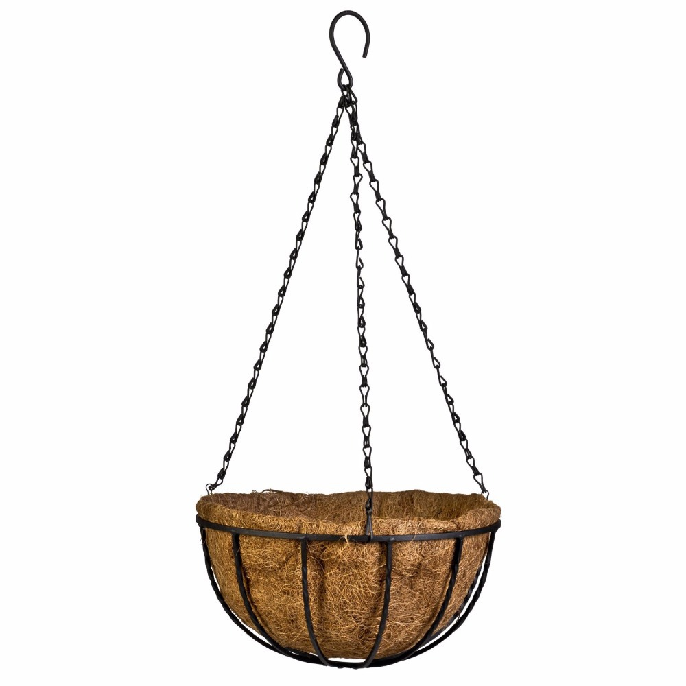 Online buy wholesale hanging basket from china hanging for Suspension decorative