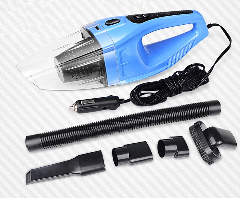 Portable Auto Vacuum Cleaner 5M 12V 120W Super Suction Car Vacuum Cleaner Wet and Dry Aspirador De Po Portatil With Car Charger(China (Mainland))