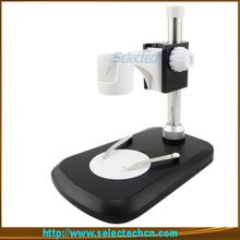Envío gratis nuevo diseño real 2.0 M píxeles de 800x microscopio cámara con medida software con medida herramientas y 8 LED SE20800XW