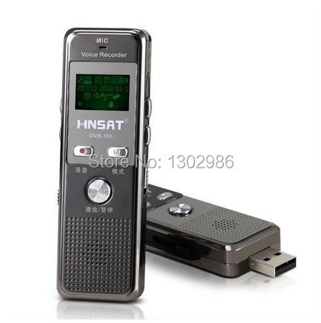 Free shipping New 4GB Digital Voice Audio USB Recorder Dictaphone with MP3 Player Function(China (Mainland))