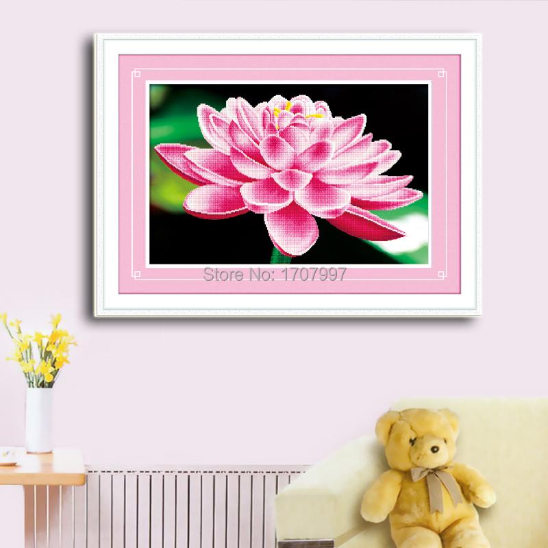 NEW style 447 DMC 3D Handmade multi-colored Diamond embroidery 80*55cm Diamond painting Flower gifts&crafts QT6292 Needlework(China (Mainland))