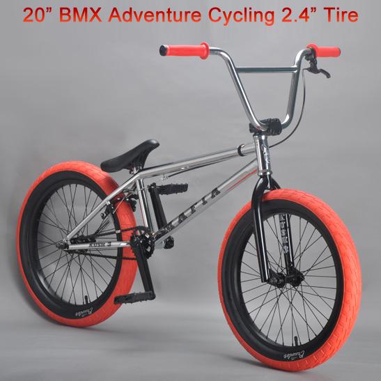 "2015 BXM Adventure Cycling Mini Bicycle 20 "" Bike Bicicleta BMX Bike 2.4"" Width Tire Cycling Show Bike 20.5 TT Steel Frame(China (Mainland))"