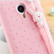 3D Luxury Soft Silicone Cute Case Meizu MX5 MX4 Pro Pro5 MX3 M1 M2 M3 Note Metal Gel Cover Original Brand Fabitoo Rubber - GD- Lysander Mobile phone accessoriesBrand stores store