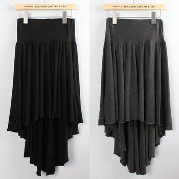 Cotton cloth dovetail skirt comfortable overcastting bust skirt full dress