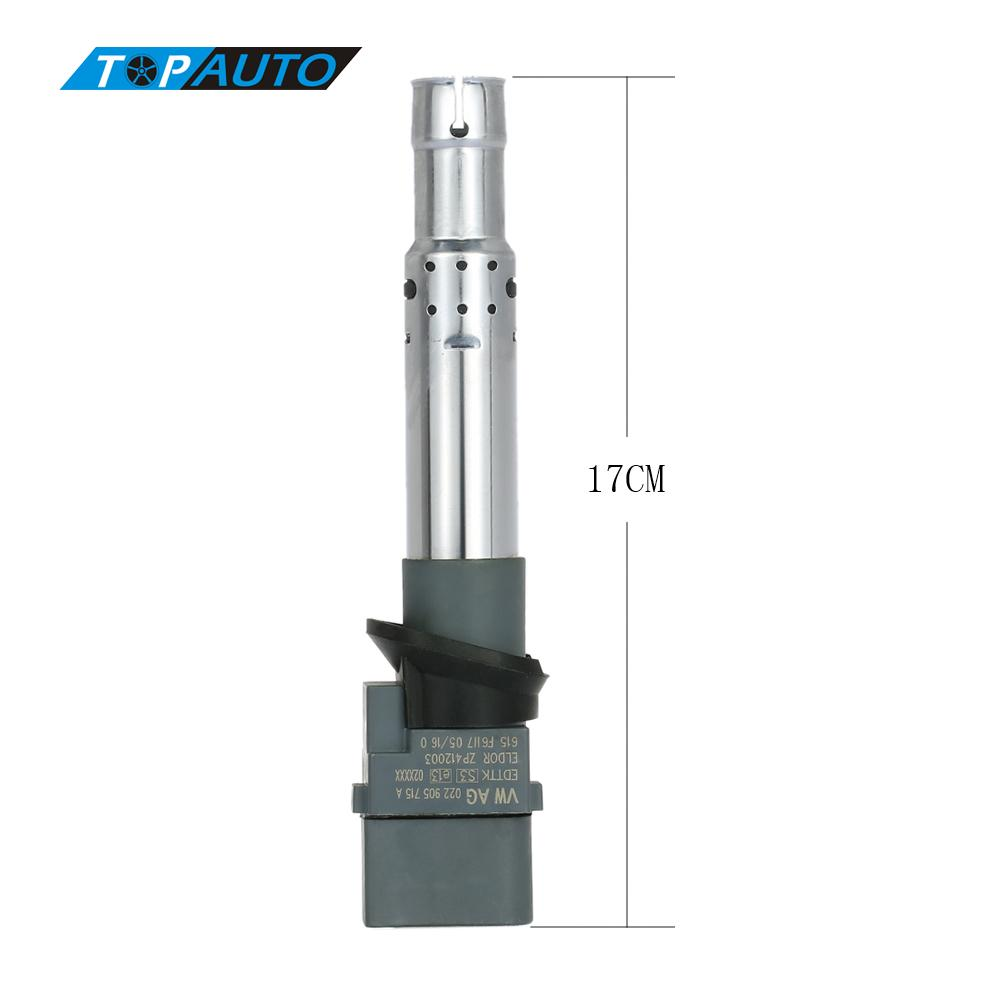 Hot Sale High Quality Car Ignition Coil Spark Plug Connector for VW Audi Seat Skoda 022905715A(China (Mainland))