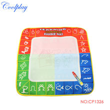 Free shipping  CP1326 49X48cm Magic Water Doodle Mat  with colo box &1 Magic Pen/Water Drawing t Mat/Water Doodle Mat(China (Mainland))