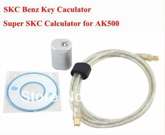 New Arrival AK500+ Ak500 MB Key Programmer with EIS SKC Calculator with best quality fast delivery ak 500(China (Mainland))