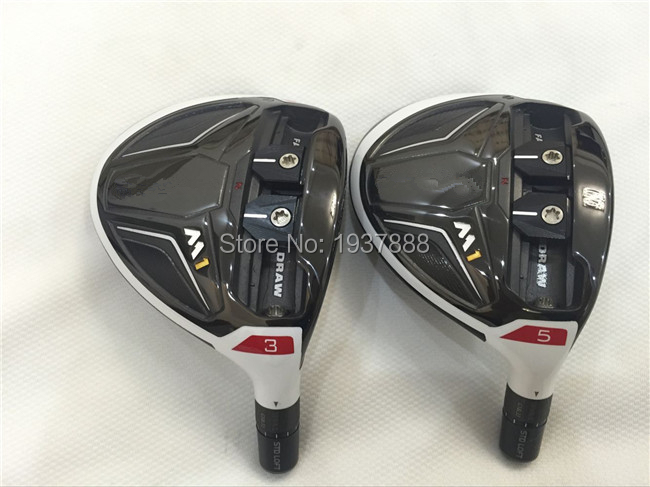 2016 M1 Fairway Woods M1 Golf Clubs Right Hand M1 Golf Fairway Woods #3/#5 R/S/SR-Flex Graphite Shaft With Head Cover(China (Mainland))