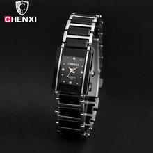 CHENXI 2016 Ceramic Wrist Watch Women Watches Ladies Brand Luxury Famous Quartz Watch Female Clock Relogio Feminino Montre Femme(China (Mainland))