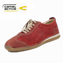 Camel Active.Top Brand shoes.made in Italy dynamic trend men's casual shoes genuine leather shoes for men handmade footweaer(China (Mainland))