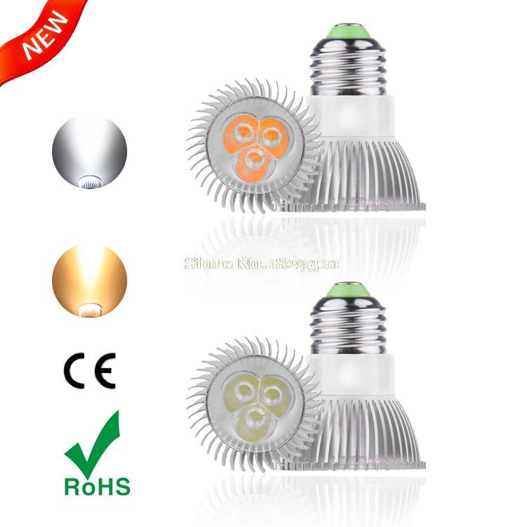 High Power 3W lampadas de led casa e27 New design 220v led spot light Energy saving for home LED spotlight led pot lights(China (Mainland))