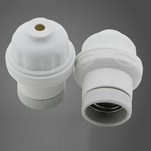 New 5pcs/lot Hanging Pendant Porcelain Lampholder E27 Light Bulb Holder Lamp Socket Free shipping Ceramic Lamp Holder(China (Mainland))